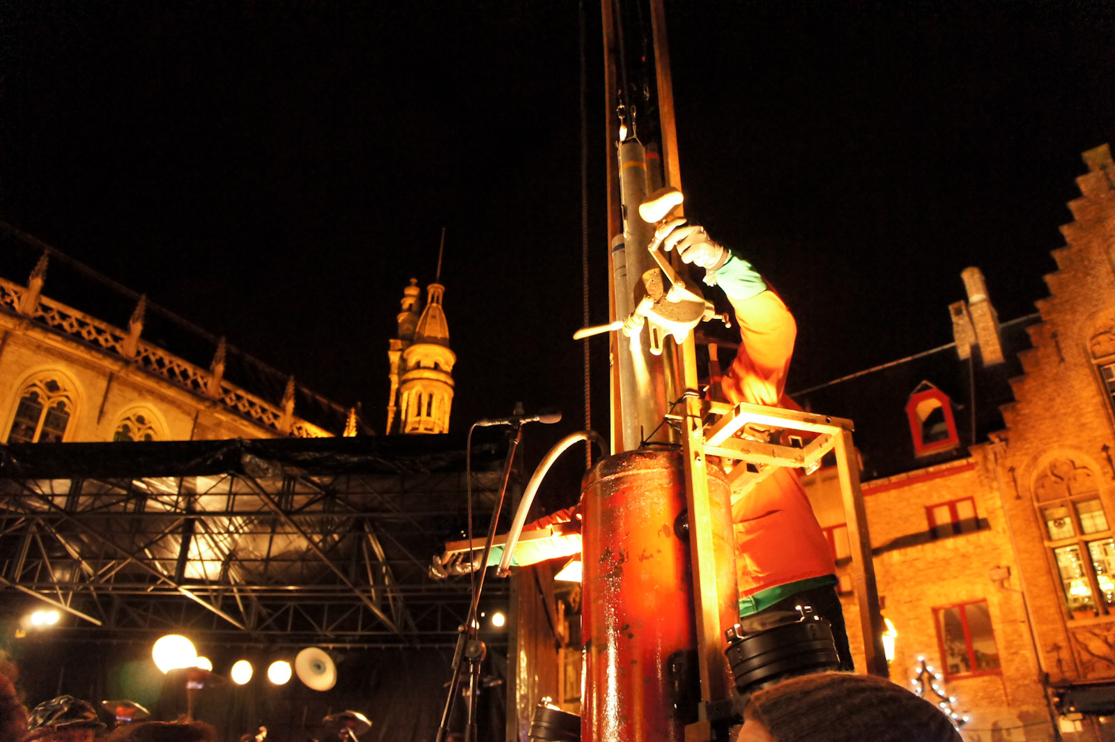 Symphonie Mecanique performs in Brugge on the 2nd of January 2011