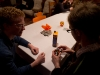Roeland teaches Bronek to play Rubik