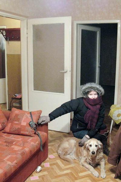 Hanne i Zorka odwiedzamy nowe mieszkanie mojego brata