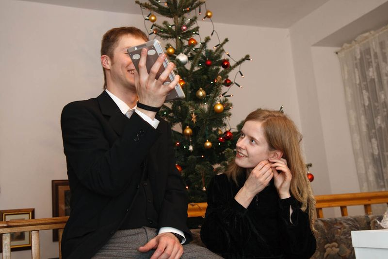 Onze kerstboom en geschenken