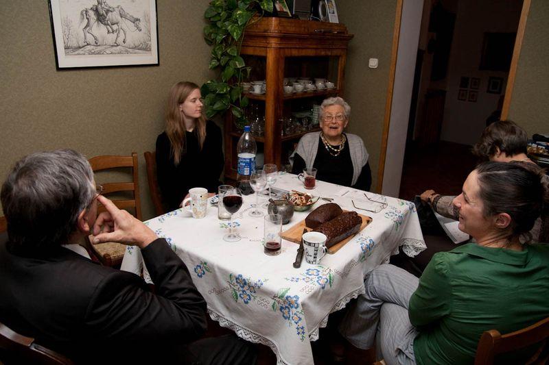 Rodzina oraz ciocia Broncia i wujek Janek Jaworscy