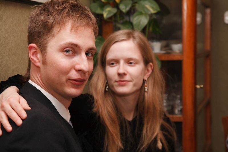 Hanne i Bronek po Å›wiÄ…tecznym obiedzie