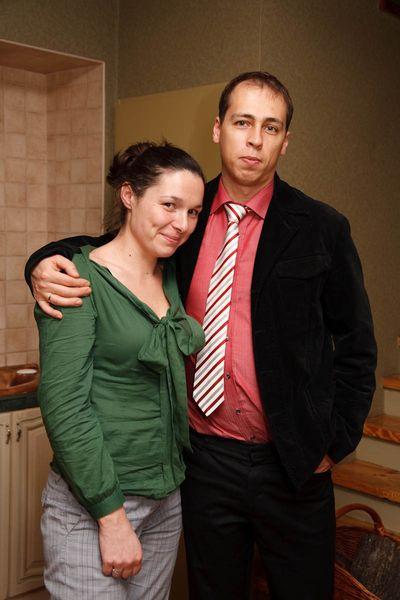 Mijn broer Mikolaj met zijn vrouw Maja