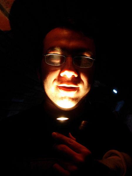Aydin from Turkey in Lodz underground.