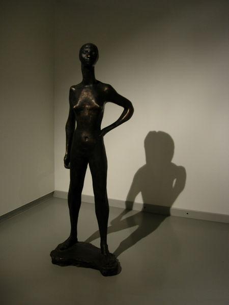 Modern art museum.