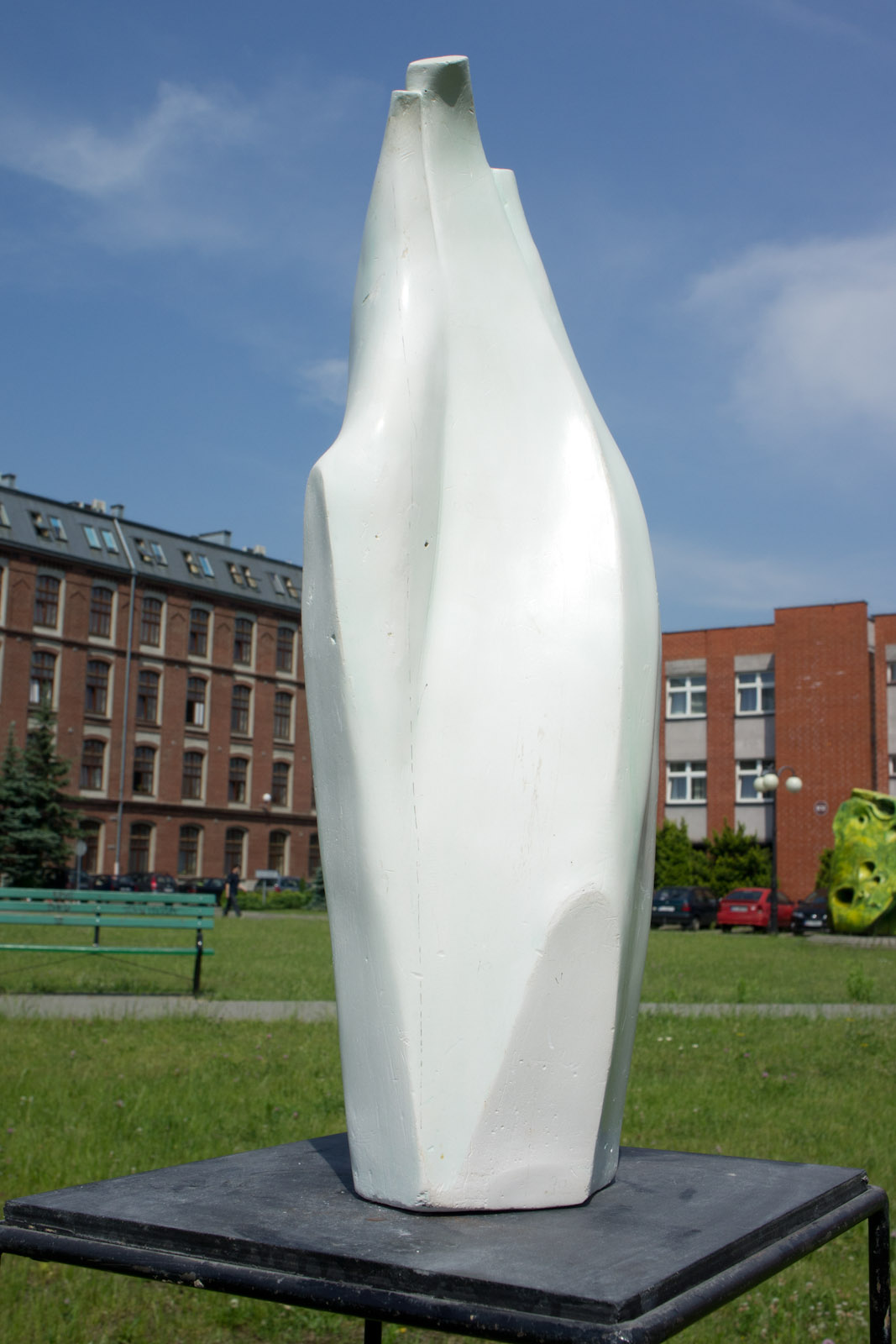 The sculpture of Bronek