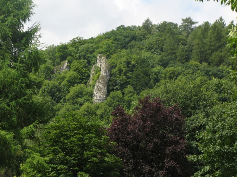 Rocks in Anseremme