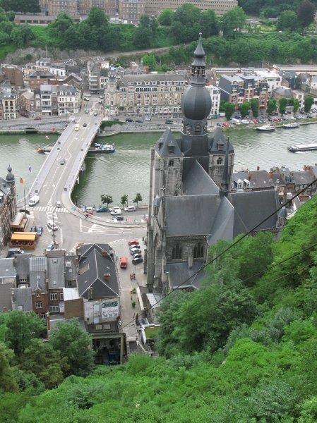 Gondola Lift to the Fort of Dinant