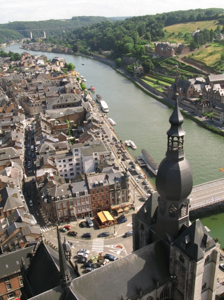 View on Dinant from the Fort