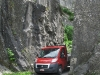 Narrow passage on the road between Anseremme & Dinant