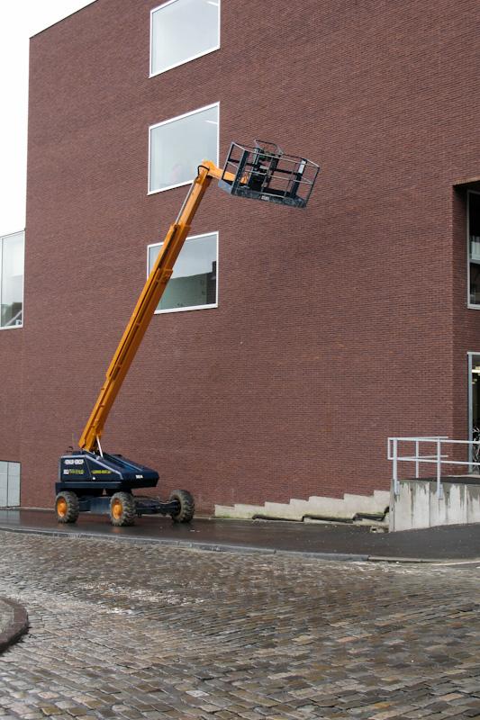 Nowy budynek Artevelde Hogeschsool na Kantienberg w Gent