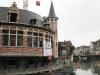 Oude Vismijn, hala rybna obok Graslei w centrum Gent w Belgii jest remontowana. Maj 2010.
