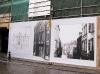 Fasada Design Muzeum w Gent podczas renowacji.