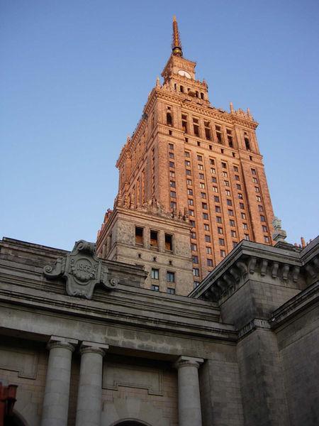 Stalin building, Warszawa