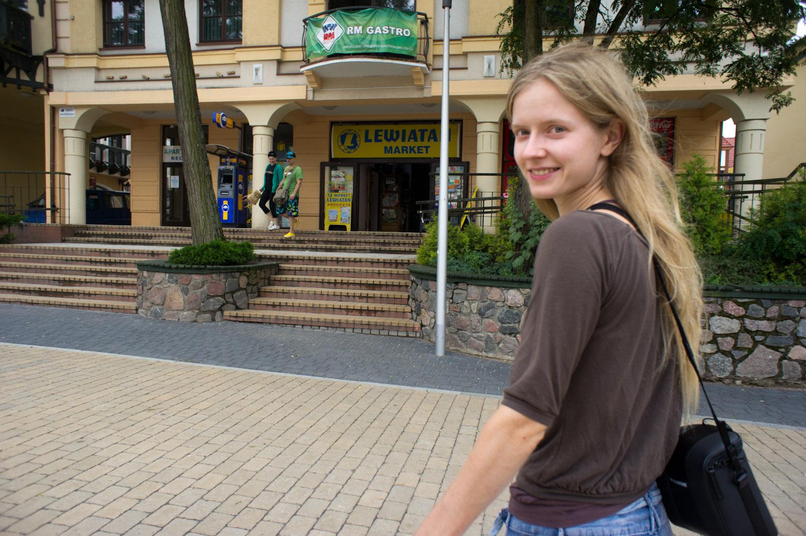Hanne in Mikołajki, Poland