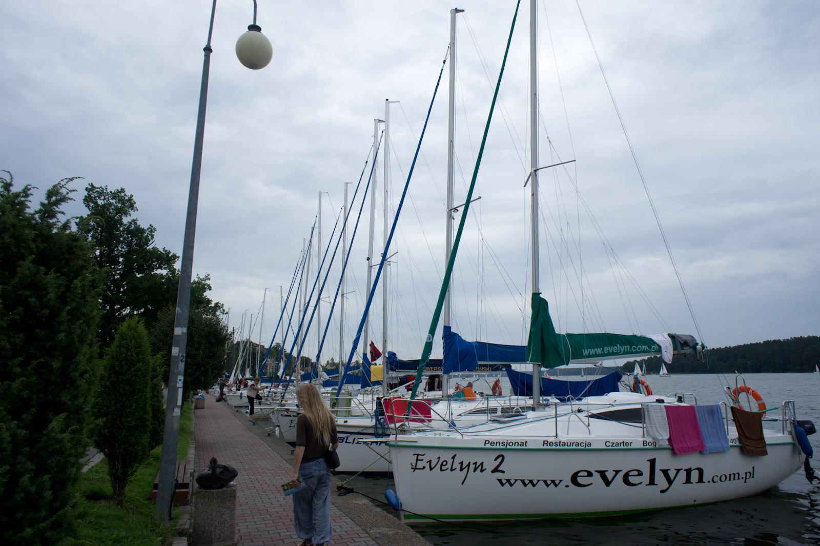 Mikołajki wharf