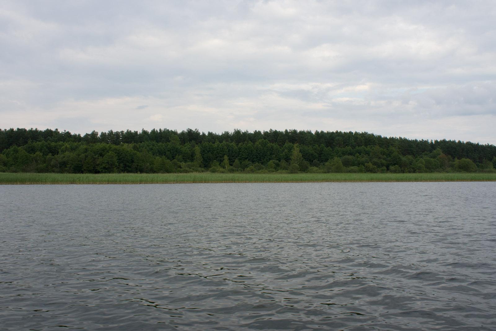 Seksty bay, Mazuria, Poland