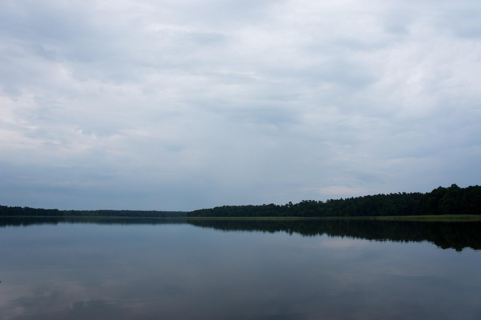 Kaczerajno baai, Mazurië, Polen