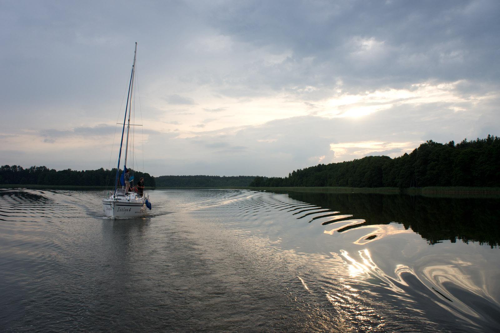 Kaczerajno bay, Mazuria, Poland