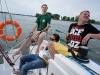 Bronek, Łukasz & Paula na jez. Tałty, Mazury