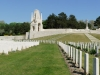 Classicistic British 1st WW Cemetery in Étaples, France, arch. Edwin Lutyens