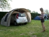 Leaving Camping des Crocs