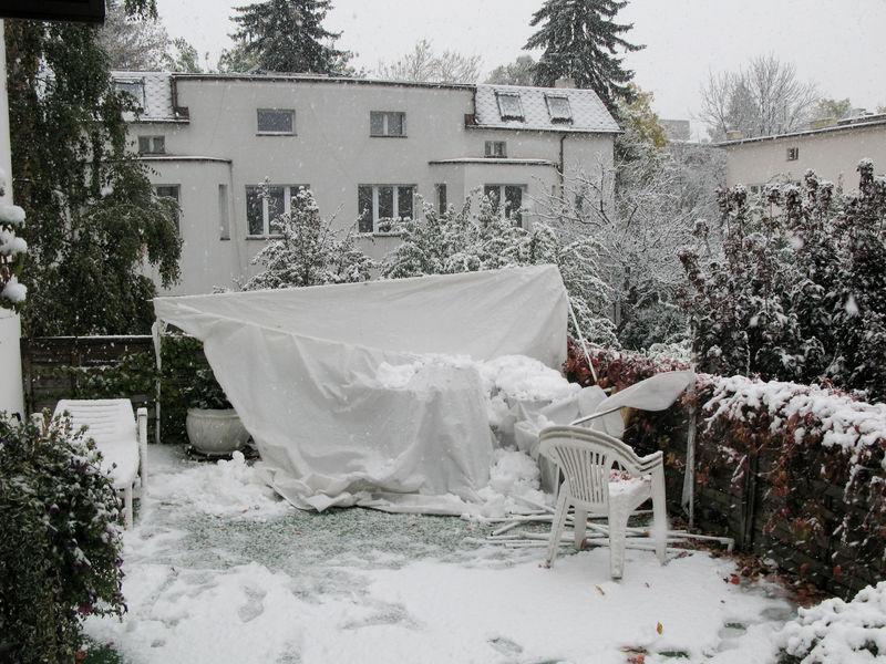 Śnierzyca w Łodzi 14.10.2009