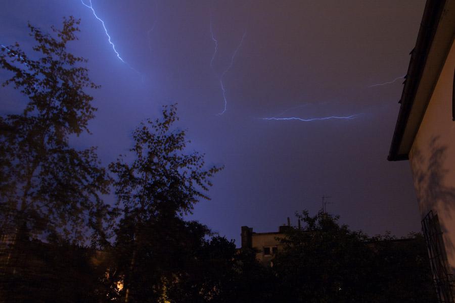 Storm in Łódź 23.07.2009