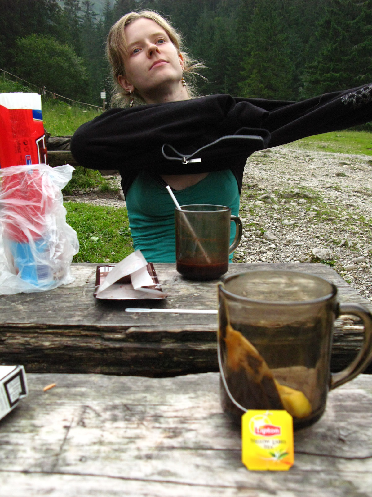 Tea in Tatra Mountains