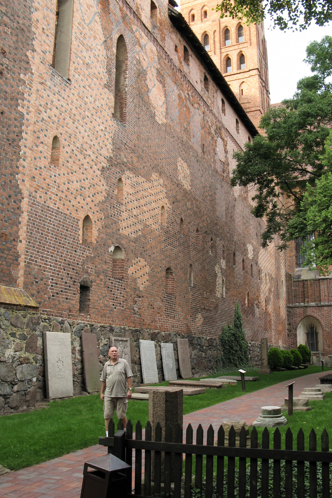 Father of Bronek in Malbork Teutonic Knights Order Fortress