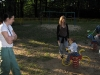 Maja, Zuza, Hanne & Bronek on a walk in a park