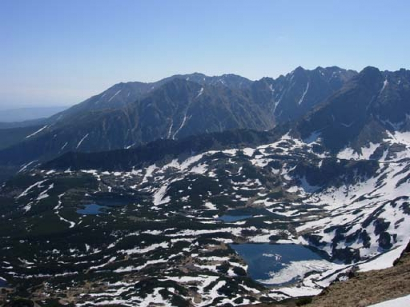 Tatra Mountains and lakes