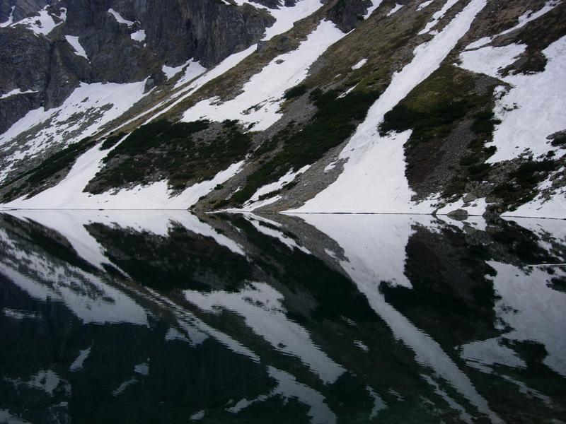 Black Pond of GÄ…sienicowa - Czarny Staw