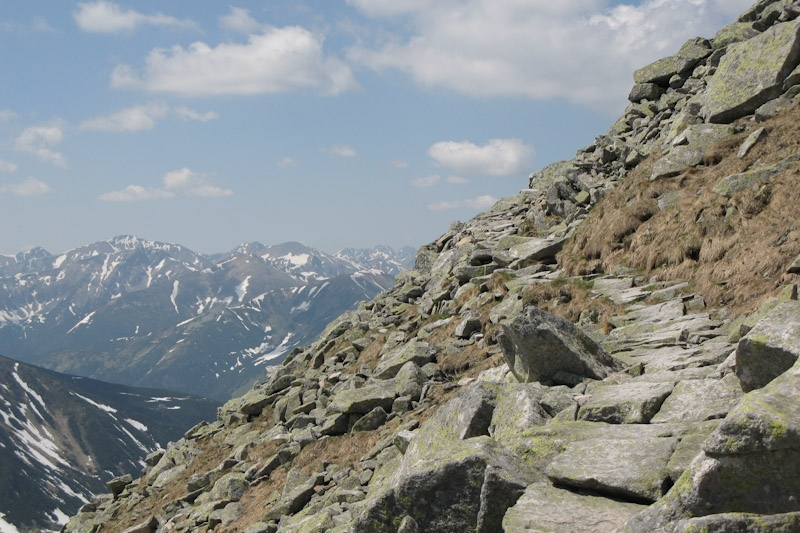 Tatra, Route back down from Swinica