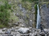 Siklawica waterfall at the foot of the sleeping knight mountain, Giewont
