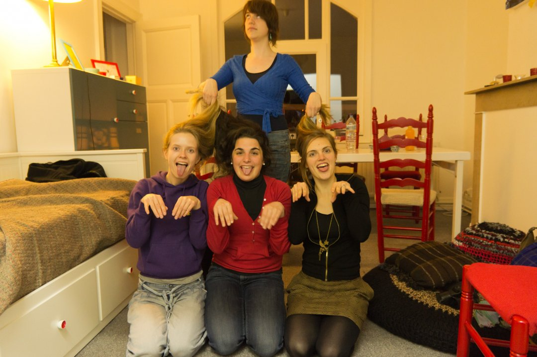 Hanne, Fien, Sien en Valerie